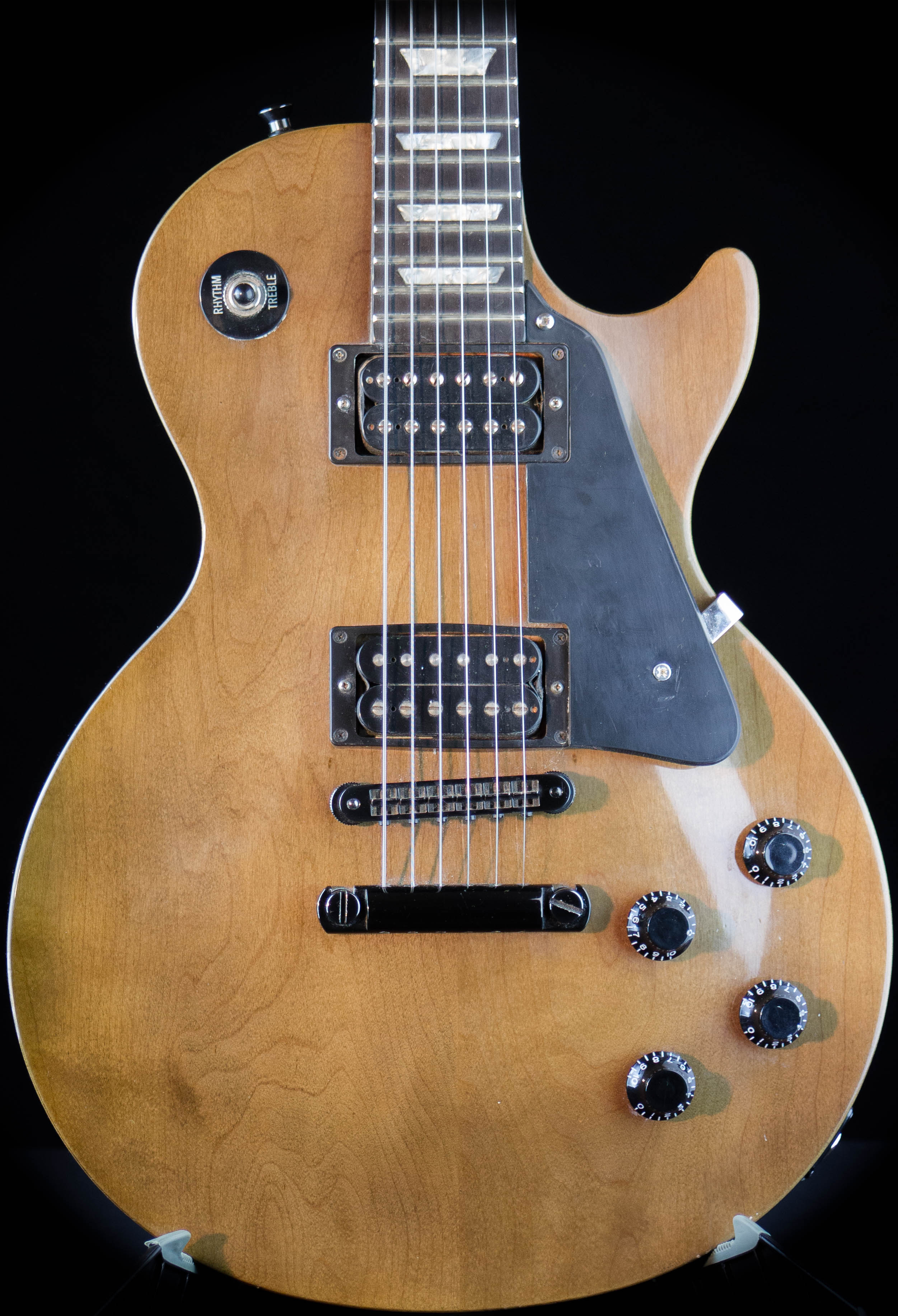1991 gibson usa les paul studio lite trans black guitar grlc1665 ebay. Black Bedroom Furniture Sets. Home Design Ideas