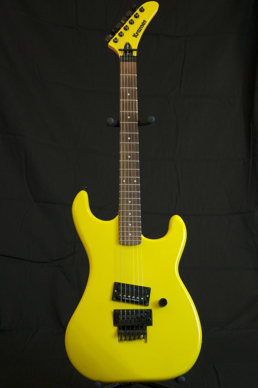 Vintage 1985 Kramer Baretta Guitar Van Halen Headstock