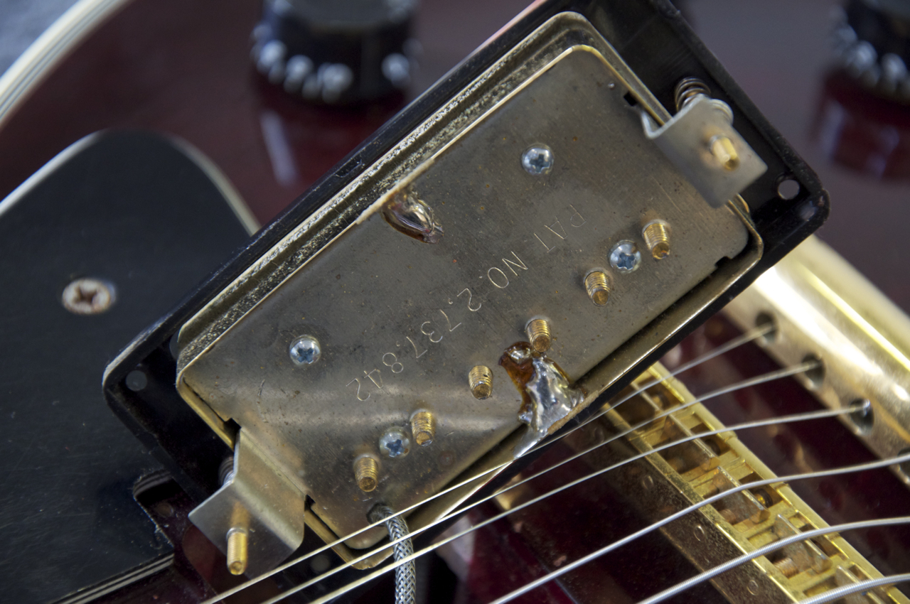 how to change the action of a les paul