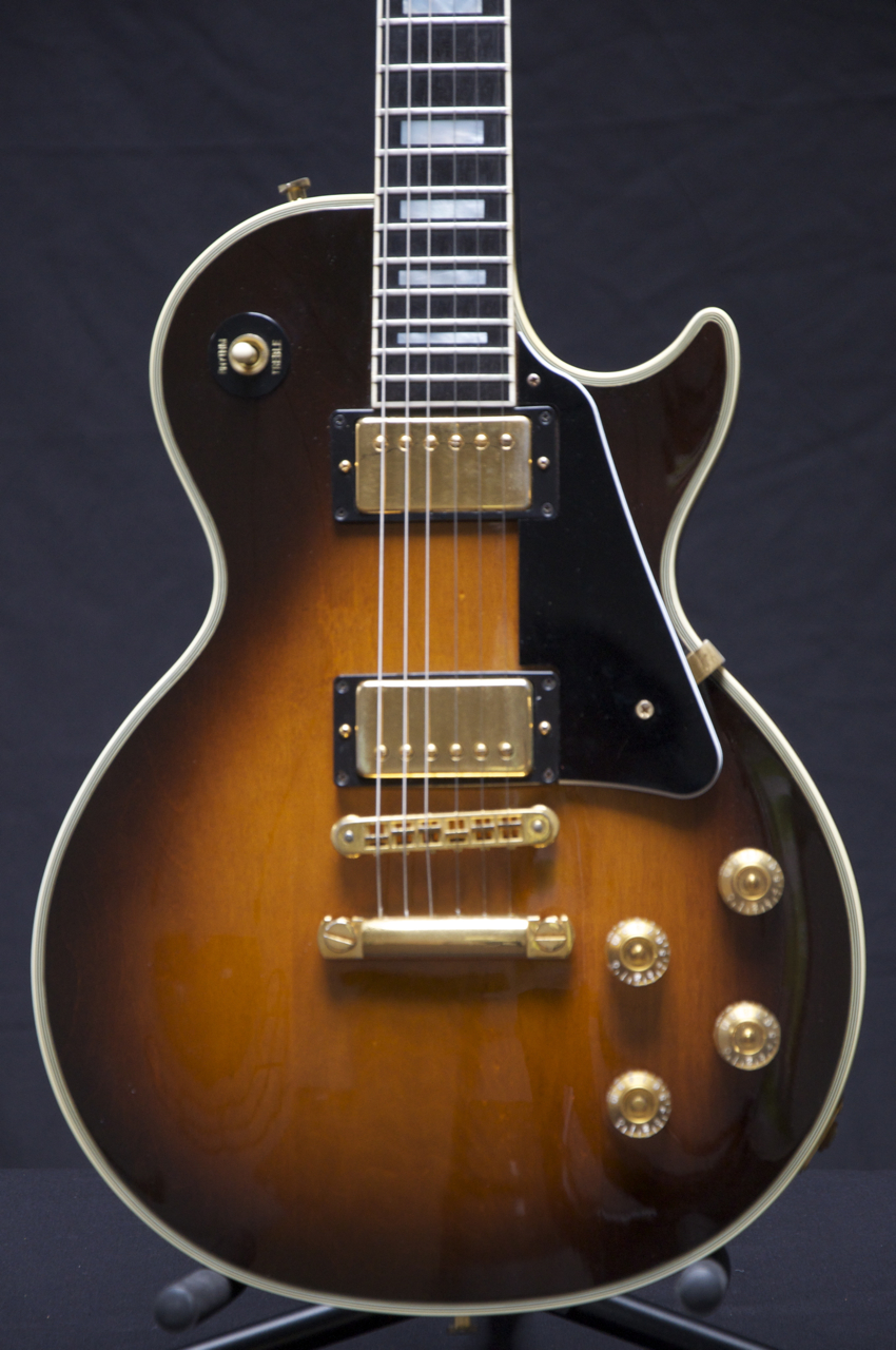 1984 gibson les paul custom tobacco sunburst guitar tim. Black Bedroom Furniture Sets. Home Design Ideas