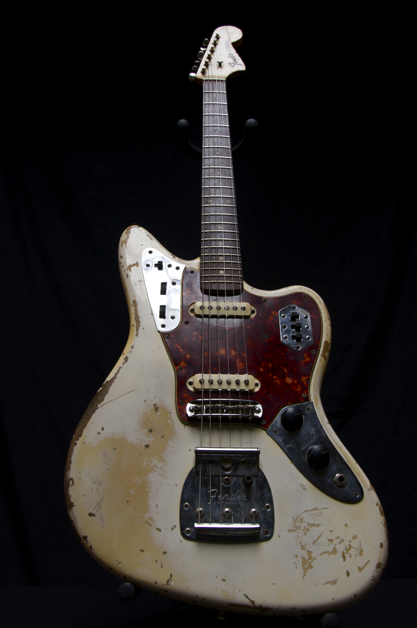 vintage 1963 fender jaguar guitar olympic white finish no