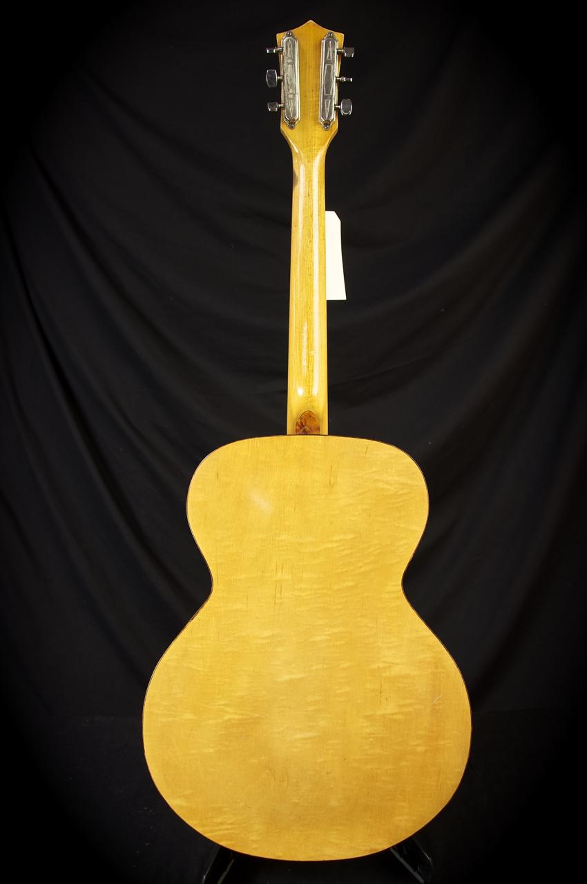 VINTAGE SILVERTONE ACOUSTIC ARCHTOP GUITAR grlc1076 | eBay
