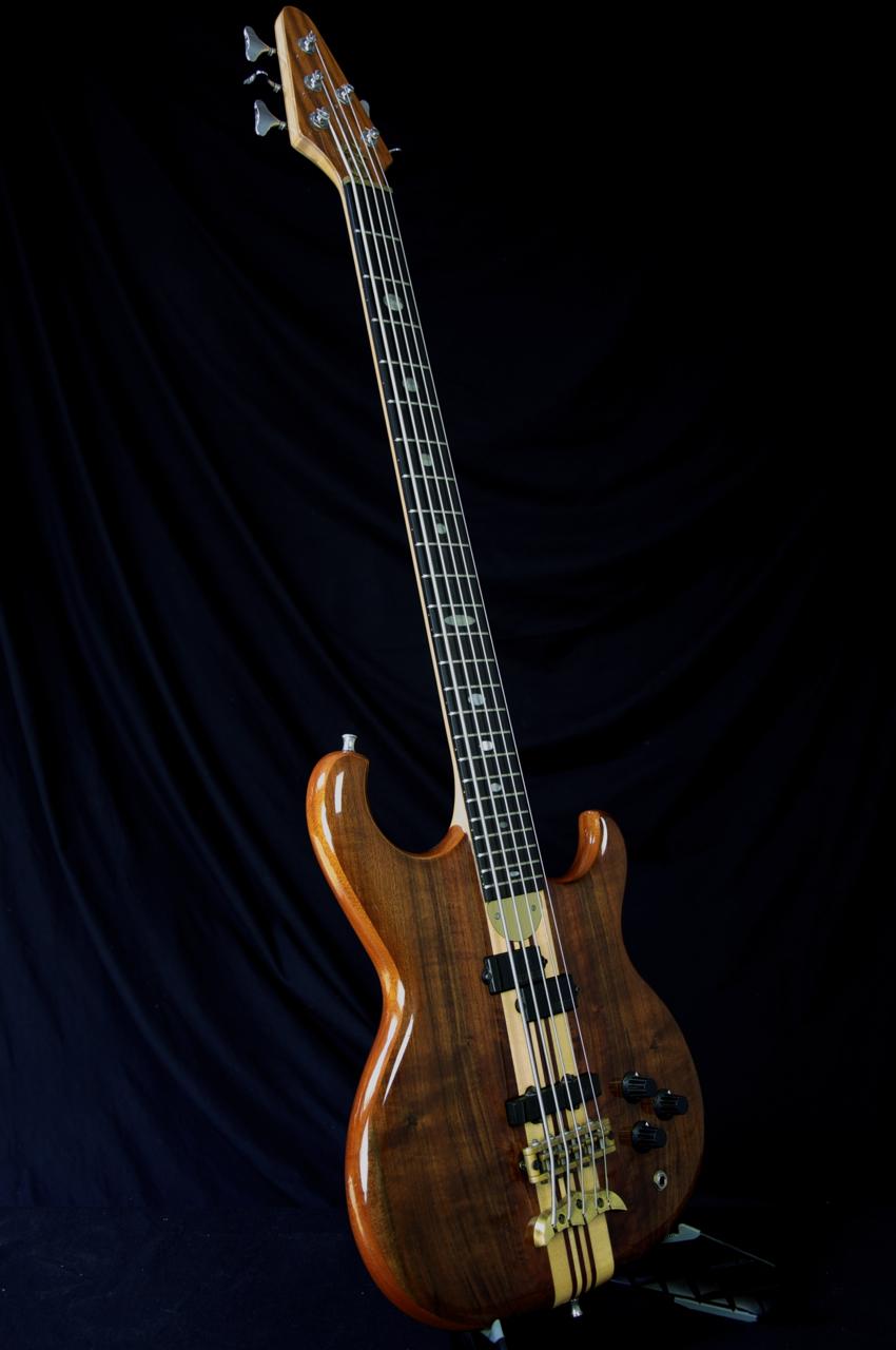rare 1987 alembic persuader 5 string bass guitar grlc1105 ebay. Black Bedroom Furniture Sets. Home Design Ideas