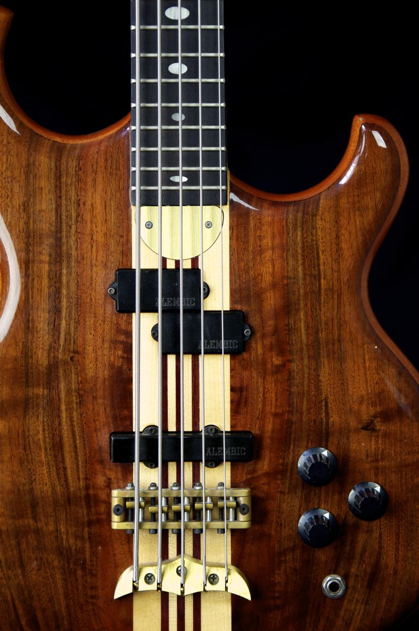 rare 1987 alembic persuader 5 string bass guitar grlc1105. Black Bedroom Furniture Sets. Home Design Ideas