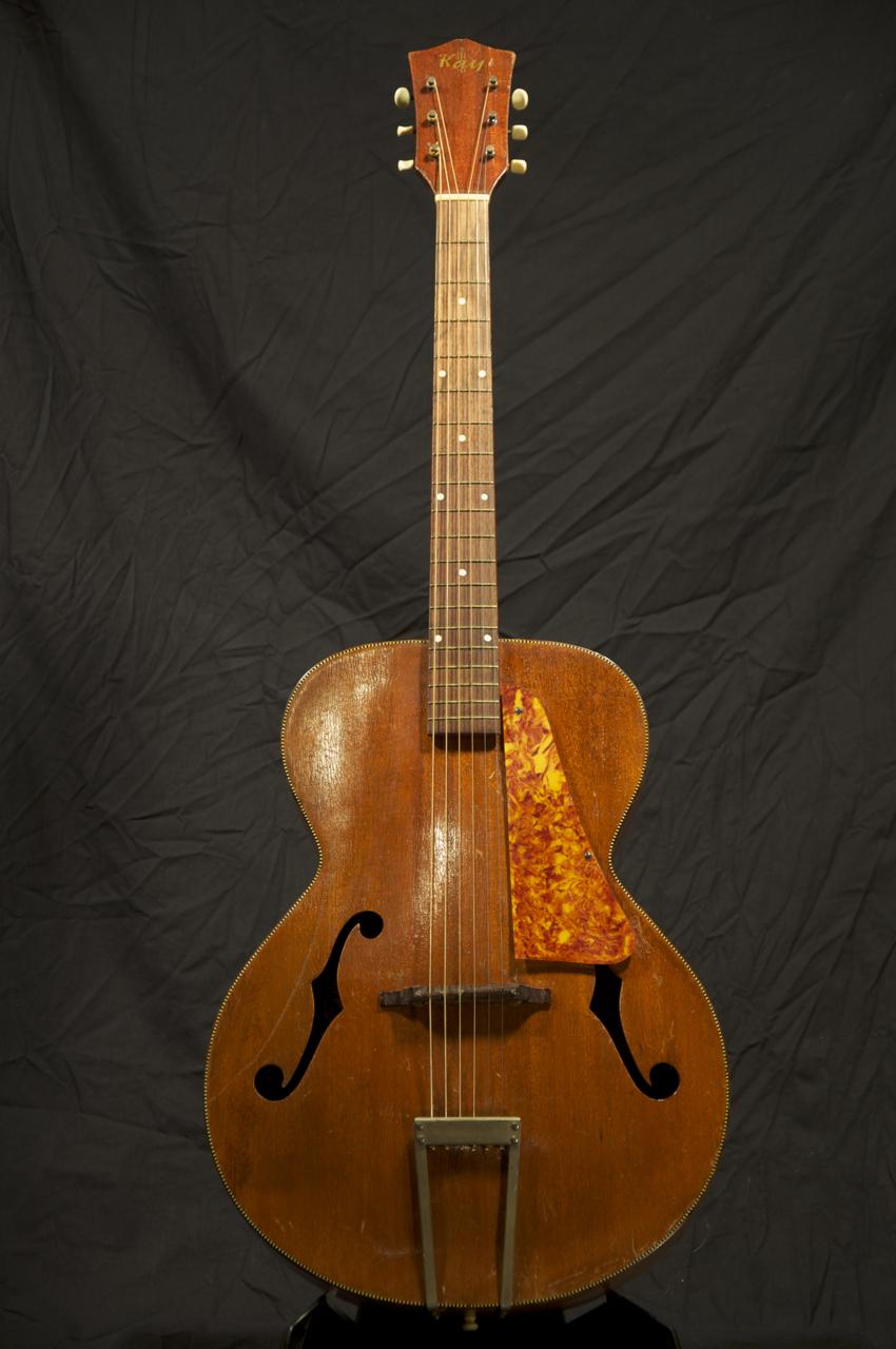vintage kay acoustic archtop guitar beauty grlc1169 ebay. Black Bedroom Furniture Sets. Home Design Ideas