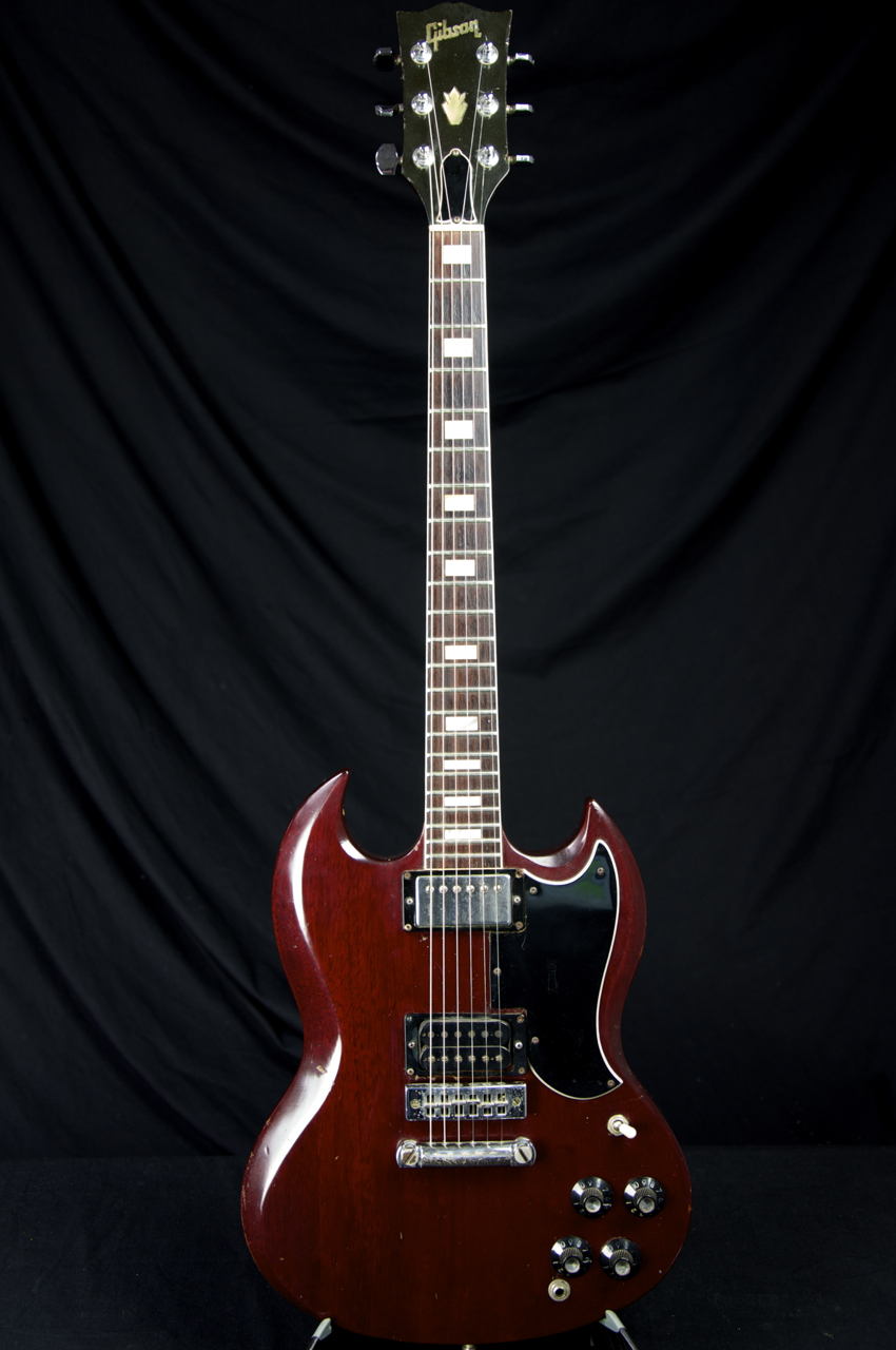 vintage 1978 gibson sg standard guitar grlc1219 ebay. Black Bedroom Furniture Sets. Home Design Ideas