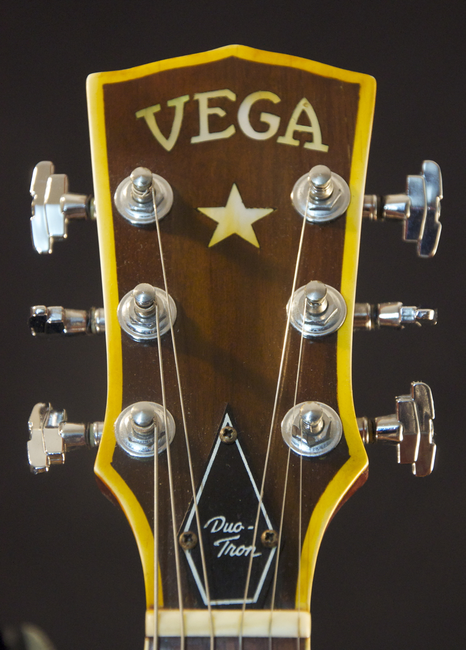 vintage 1948 vega e 300 archtop acoustic guitar w hsc grlc1300 ebay. Black Bedroom Furniture Sets. Home Design Ideas