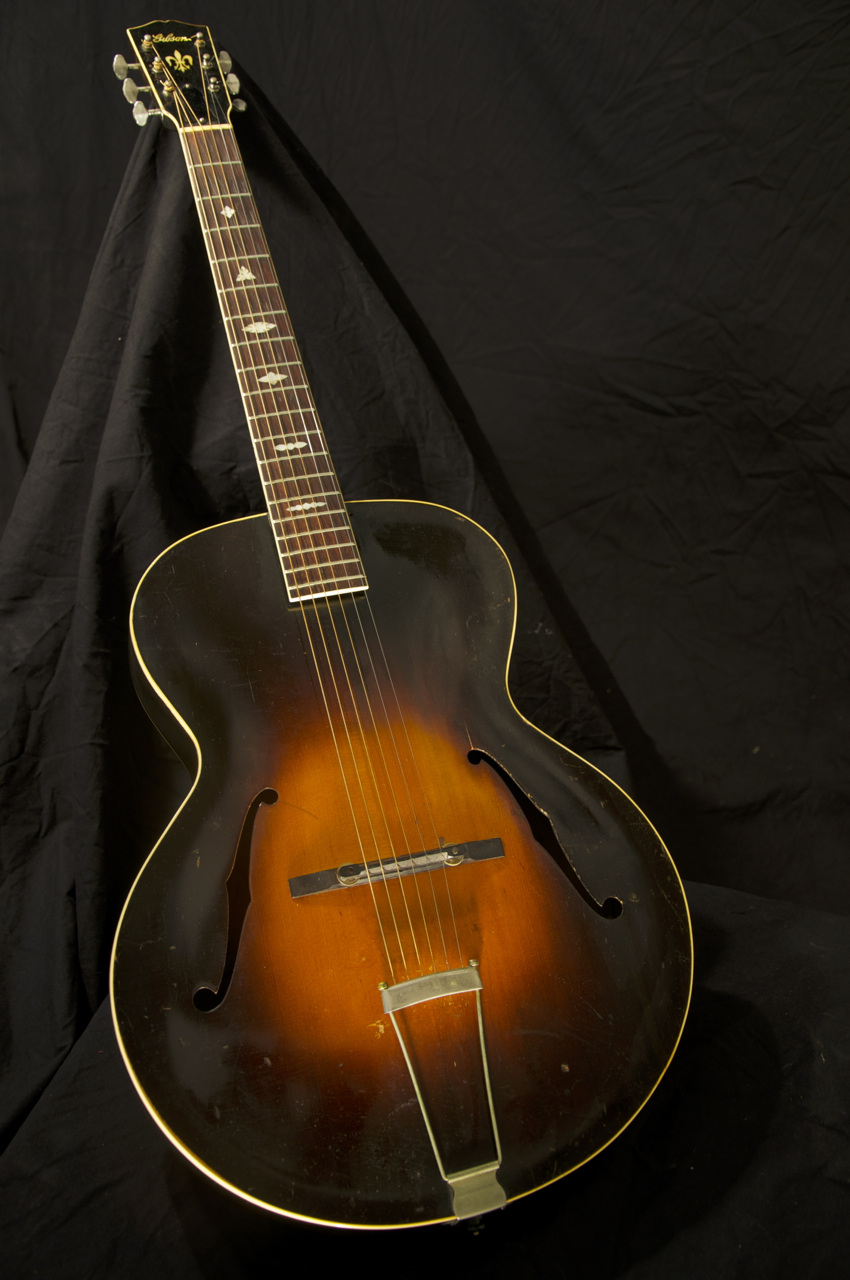 vintage 1933 gibson l7 l 7 archtop acoustic guitar grlc1307 ebay. Black Bedroom Furniture Sets. Home Design Ideas