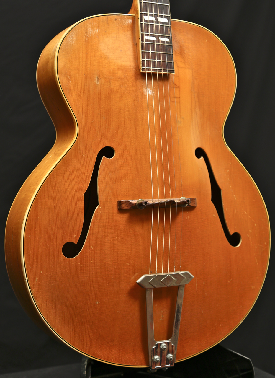 vintage 1940 gibson l 7 l7 n natural blonde archtop guitar grlc1425 ebay. Black Bedroom Furniture Sets. Home Design Ideas