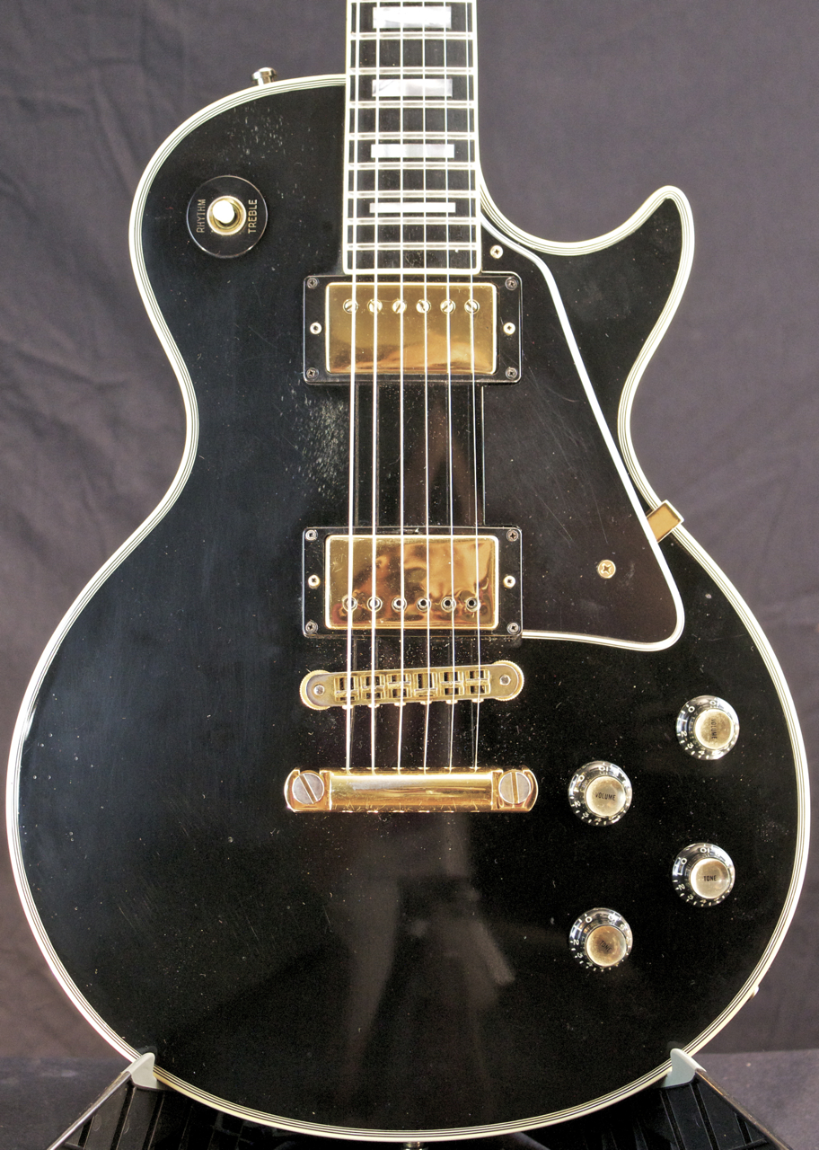 1978 gibson les paul custom fretless wonder black beauty guitar grlc1435 ebay. Black Bedroom Furniture Sets. Home Design Ideas