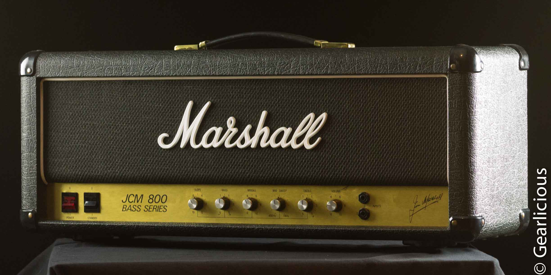 1981 marshall jcm 800 mk ii bass series tube guitar amp grlc1691 ebay. Black Bedroom Furniture Sets. Home Design Ideas