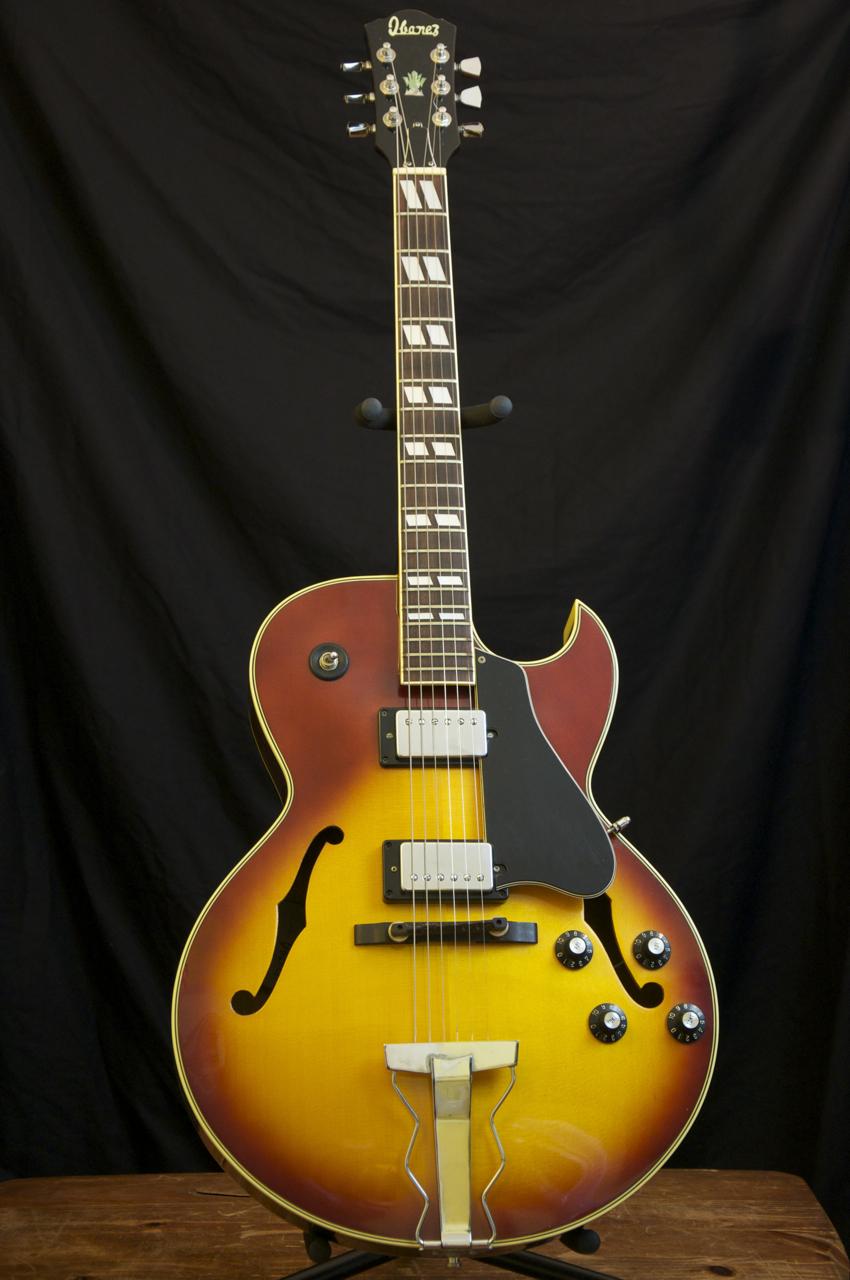 vintage 1977 ibanez 2355 archtop guitar es 175 style grlc625 ebay. Black Bedroom Furniture Sets. Home Design Ideas