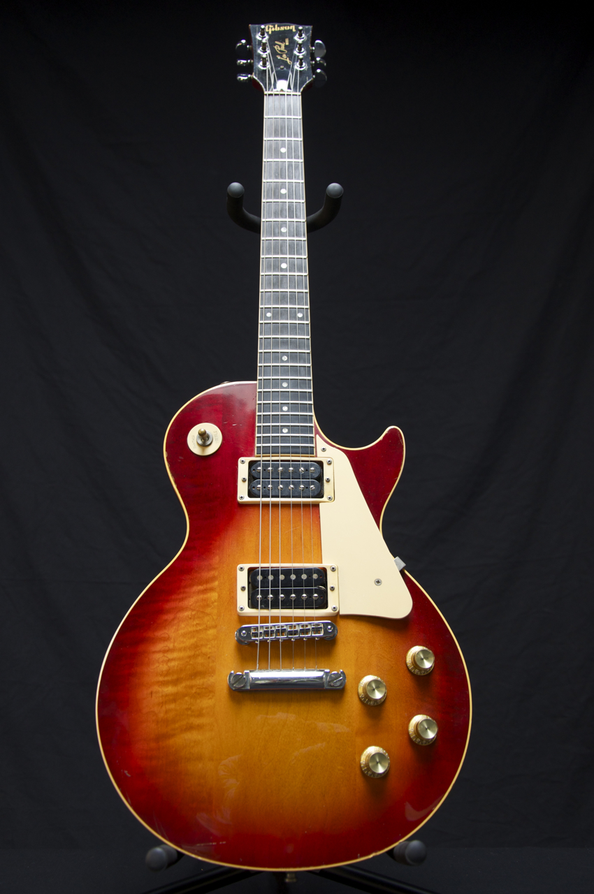 Les Paul Gibson On Shoppinder 355 Wiring Diagram Rare 1986 Studio Standard Guitar Cherry