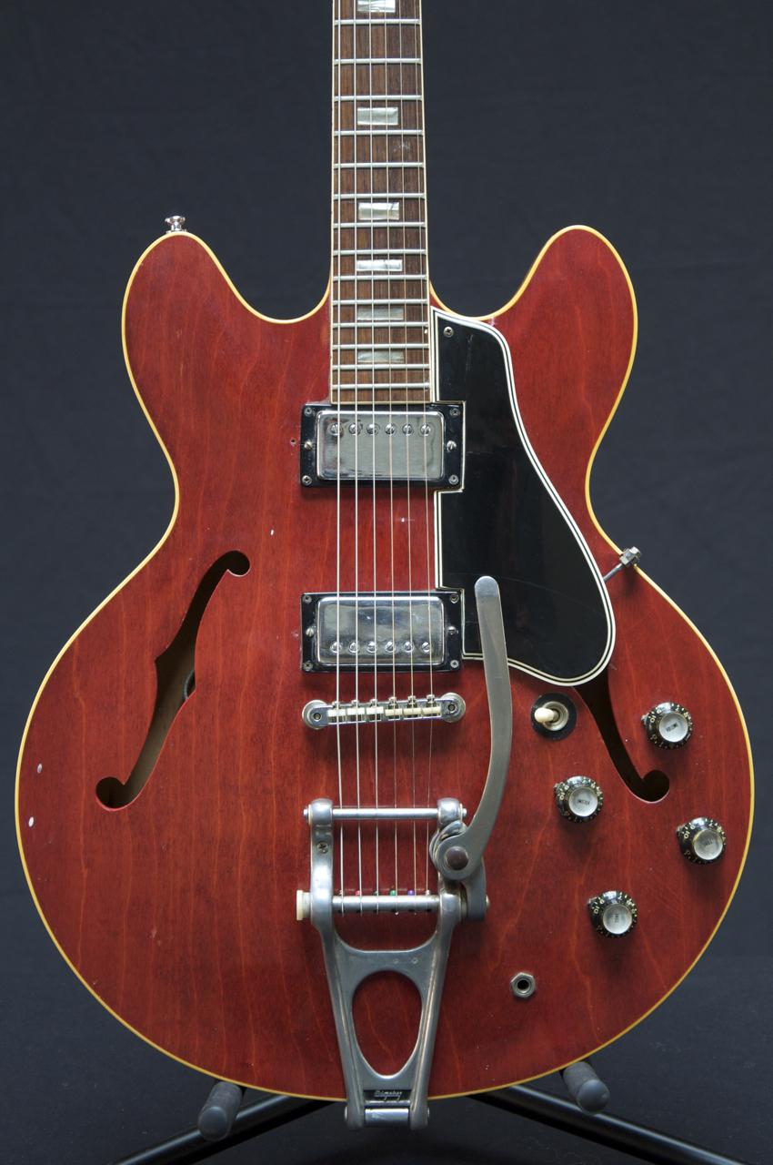 vintage 1969 gibson es 330 hollow body guitar es 335 mods grlc724 ebay. Black Bedroom Furniture Sets. Home Design Ideas