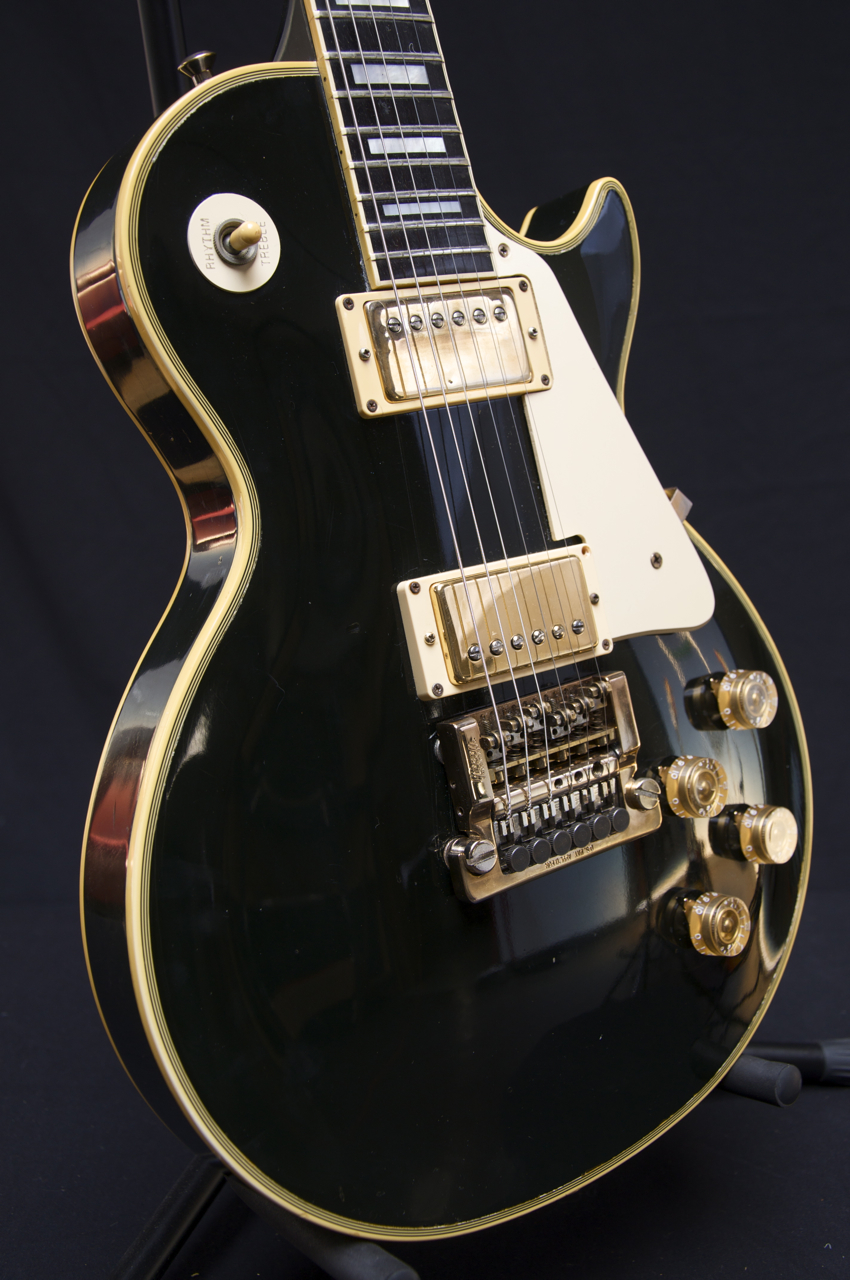 price reduced 1983 gibson les paul custom guitar grlc736 ebay. Black Bedroom Furniture Sets. Home Design Ideas