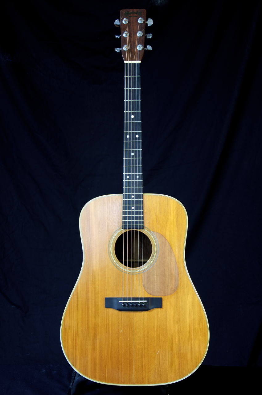 vintage 1971 martin d 28 acoustic guitar classic tone grlc860 ebay. Black Bedroom Furniture Sets. Home Design Ideas
