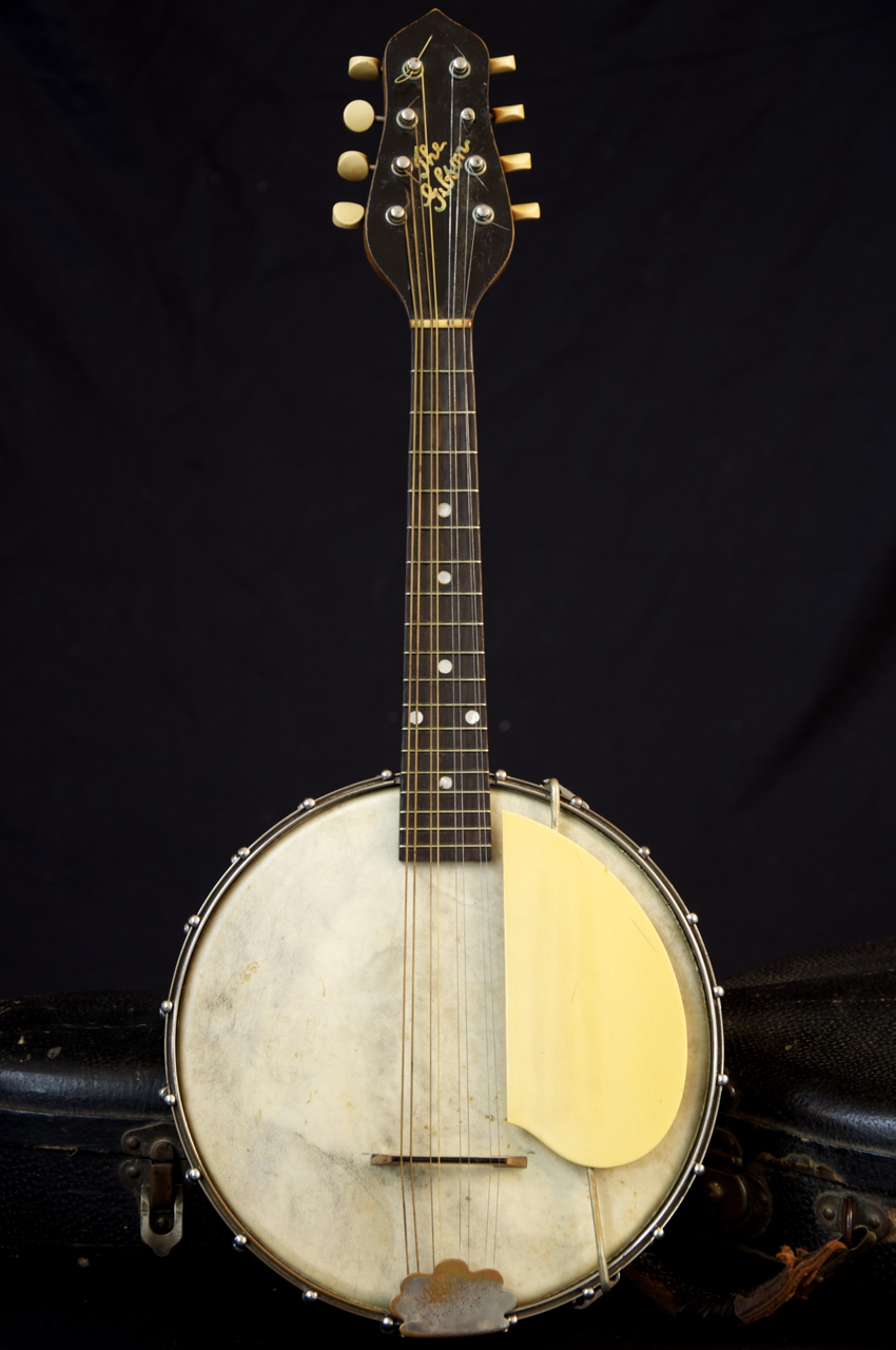 vintage 1922 gibson mb 1 mandolin banjo w case grlc869. Black Bedroom Furniture Sets. Home Design Ideas