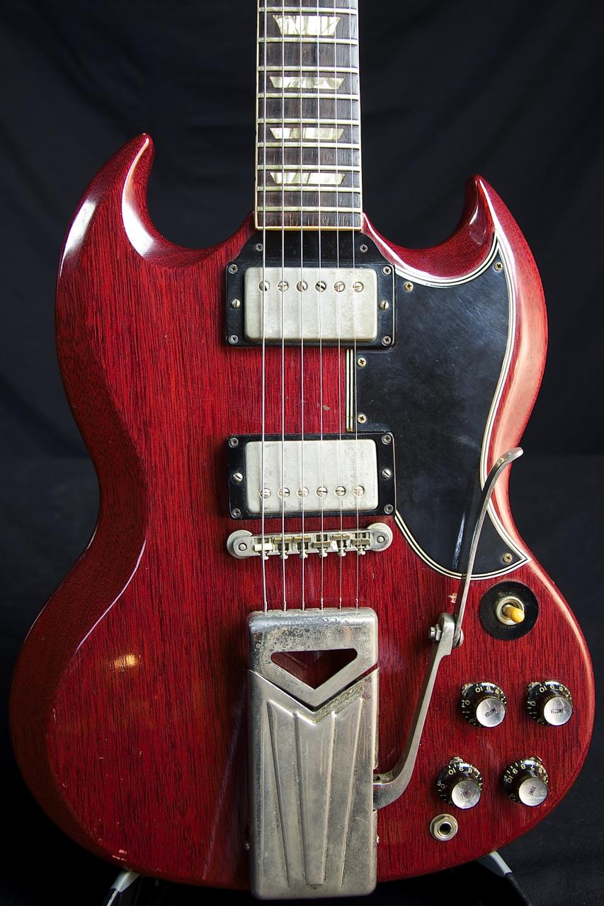 price drop vintage 1961 gibson sg standard guitar grlc980. Black Bedroom Furniture Sets. Home Design Ideas